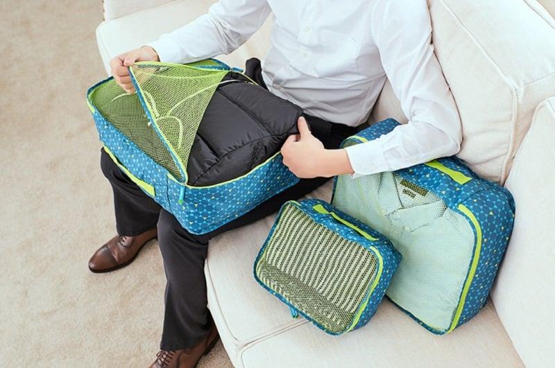Túi vải đựng quần áo Msquare Business