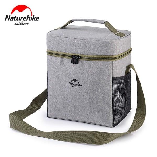 túi đựng giữ nhiệt đựng cơm văn phòng hiệu naturehike màu xám