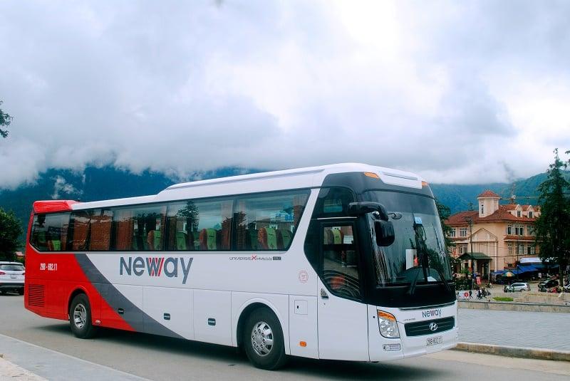 xe bus đi tam đảo