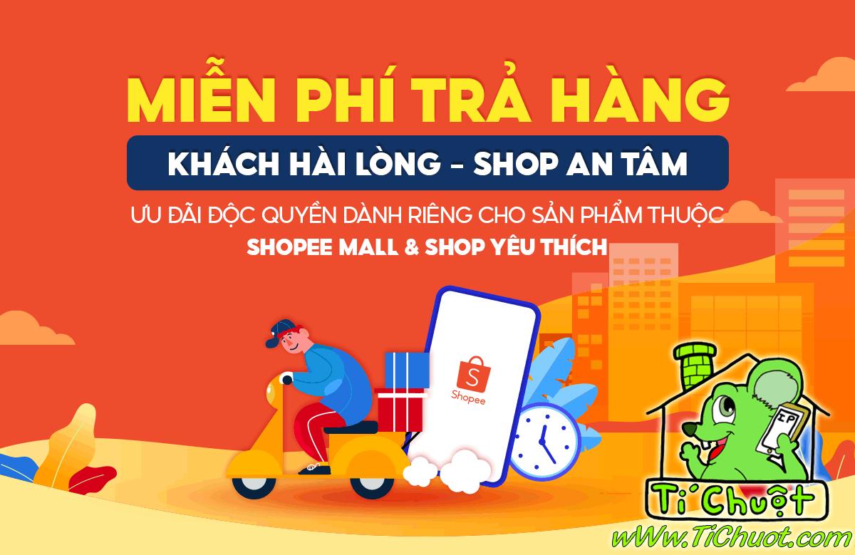 Hướng Dẫn Thao Tác Trả Hàng & Hoàn Tiền Tận Nhà Miễn Phí Qua J&T Express khi mua hàng của Shop Tí Chuột tại sàn SHOPEE !