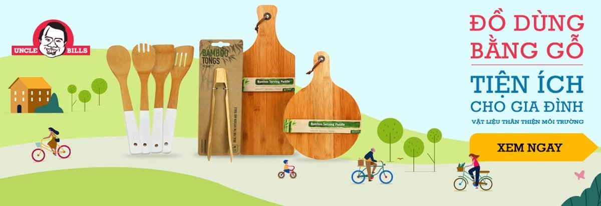 Đồ dùng tiện ích bằng gỗ
