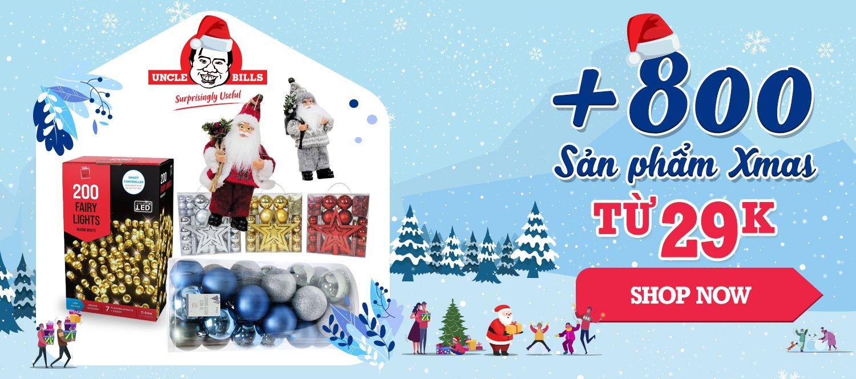 Hộp quà và túi quà Giáng Sinh