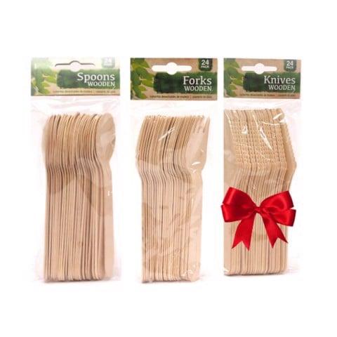 dao muỗng nĩa gỗ