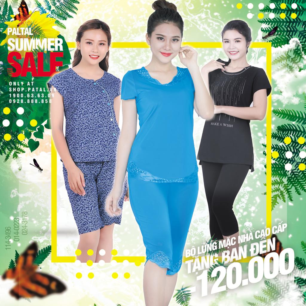 Sale Bộ lửng mặc nhà đẹp giá rẻ giá tốt chất lượng cao - PALTAL Ưu đãi Giải nhiệt mùa hè - Sale hot giá tốt!