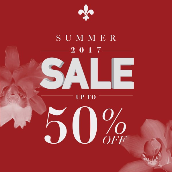 Happy Summer 2017 Sale Up to 50% off