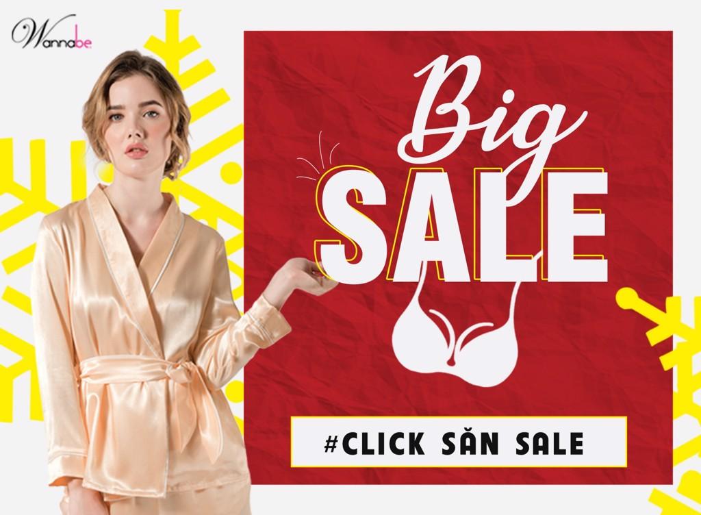 Wannabe big sale khuyen mai len den 50%