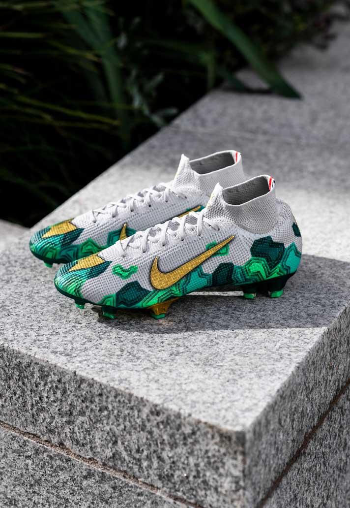 Giày đá banh chính hãng. Giày đá banh Nike. NIKE MERCURIAL. Kylian Mbappe