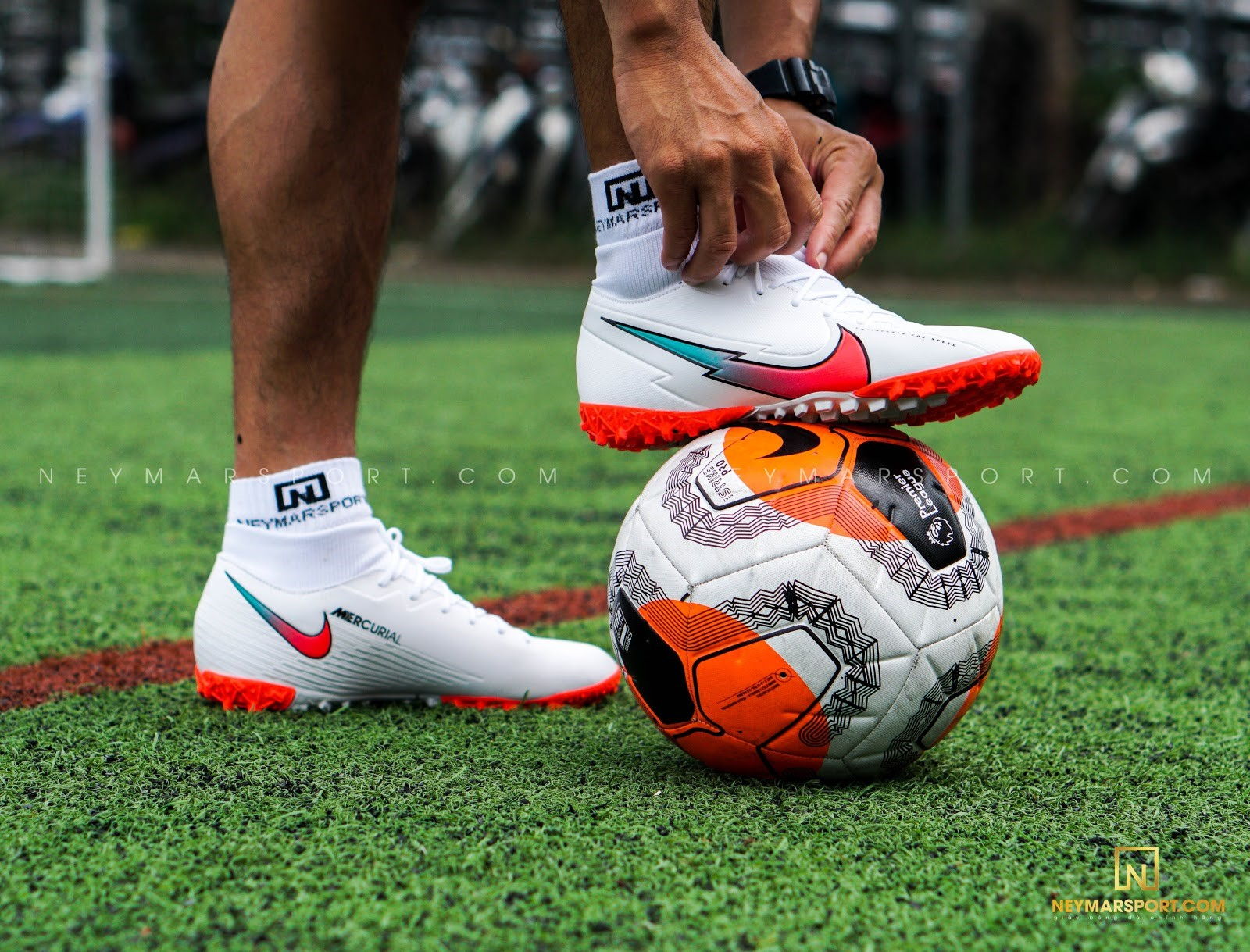 Giày đá banh Nike Mercurial Superfly 7 Academy TF The Flash Crimson