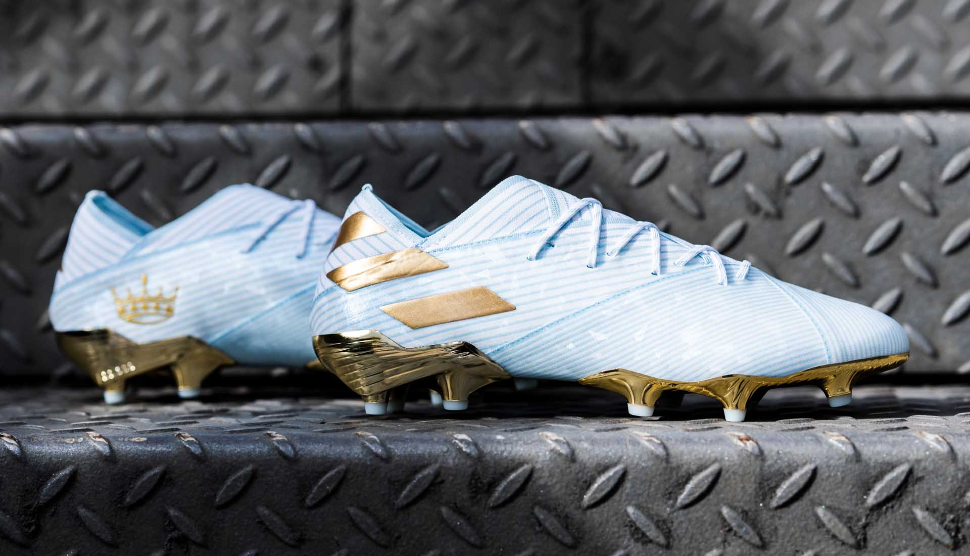 Giày đá banh chính hãng. Giày đá banh Adidas. Giày đá banh Adidas Nemeziz Messi.