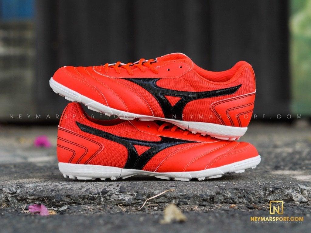 Giày đá bóng Mizuno Morelia SALA CLUB TF RED/BLACK