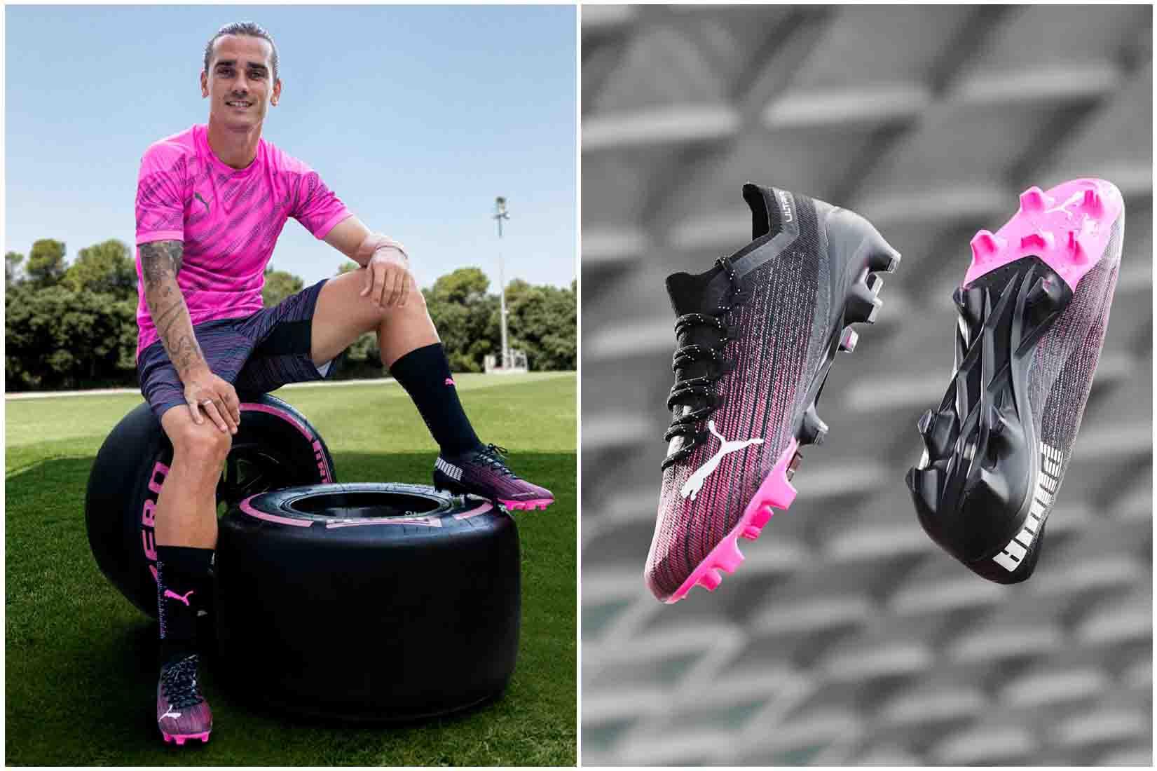 Antoine Griezmann mang giày đá banh Puma Ultra 1.1