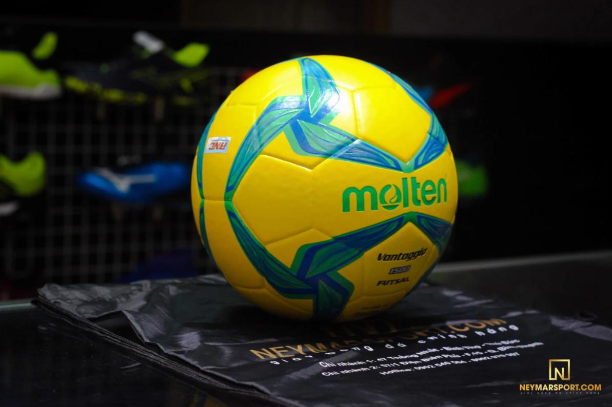 Bóng đá futsal MOLTEN tiêu chuẩn F9V1500 – YG