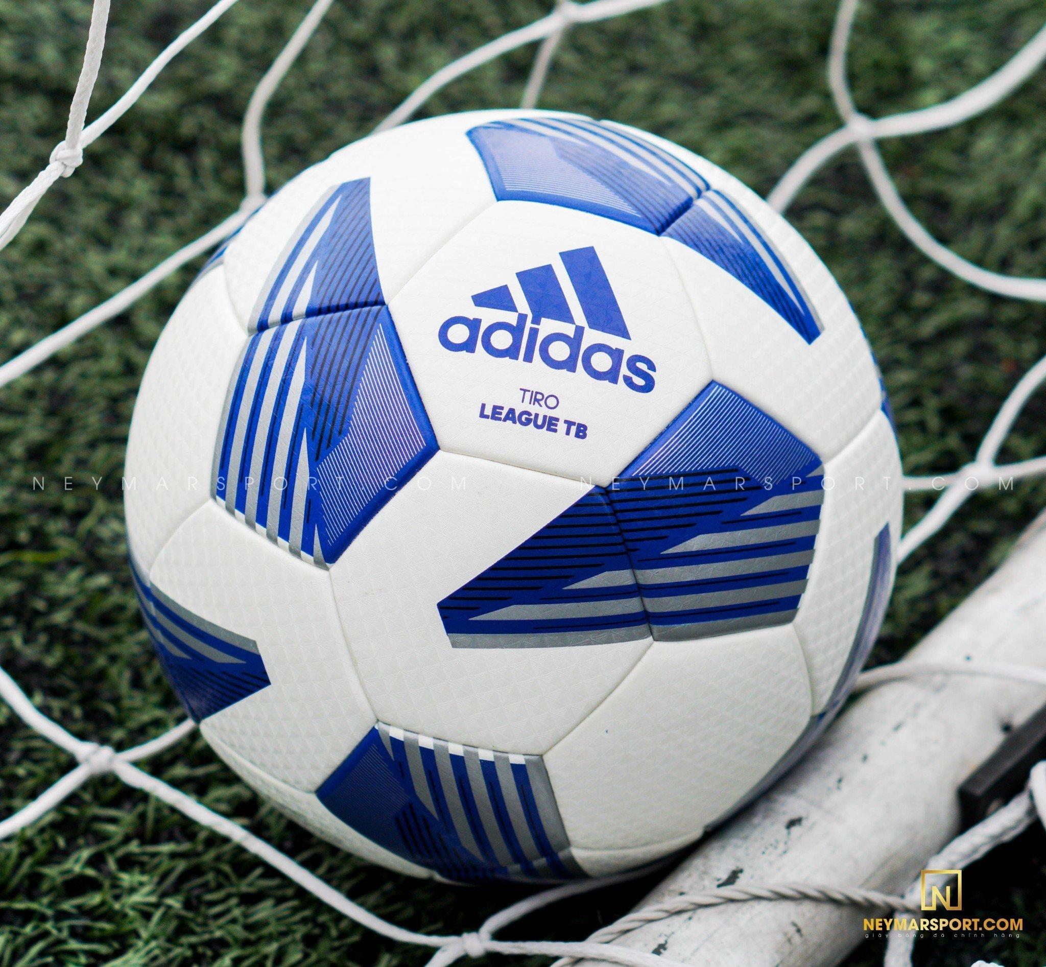 Bóng đá adidas TIRO LEAGUE TB- WHITE/ BLUE