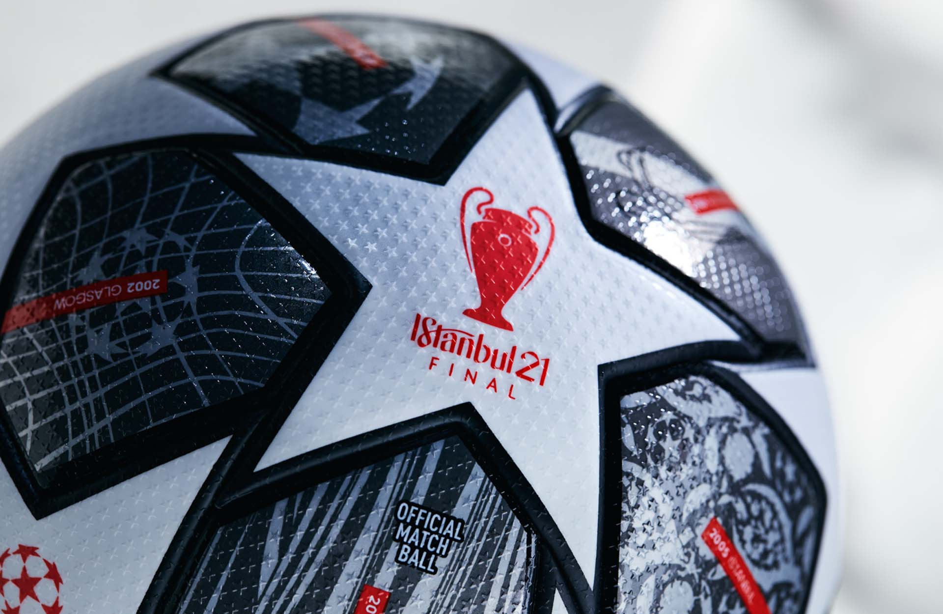 Adidas lộ diện banh Champion League mới The Finale Istanbul 21 UCL Official