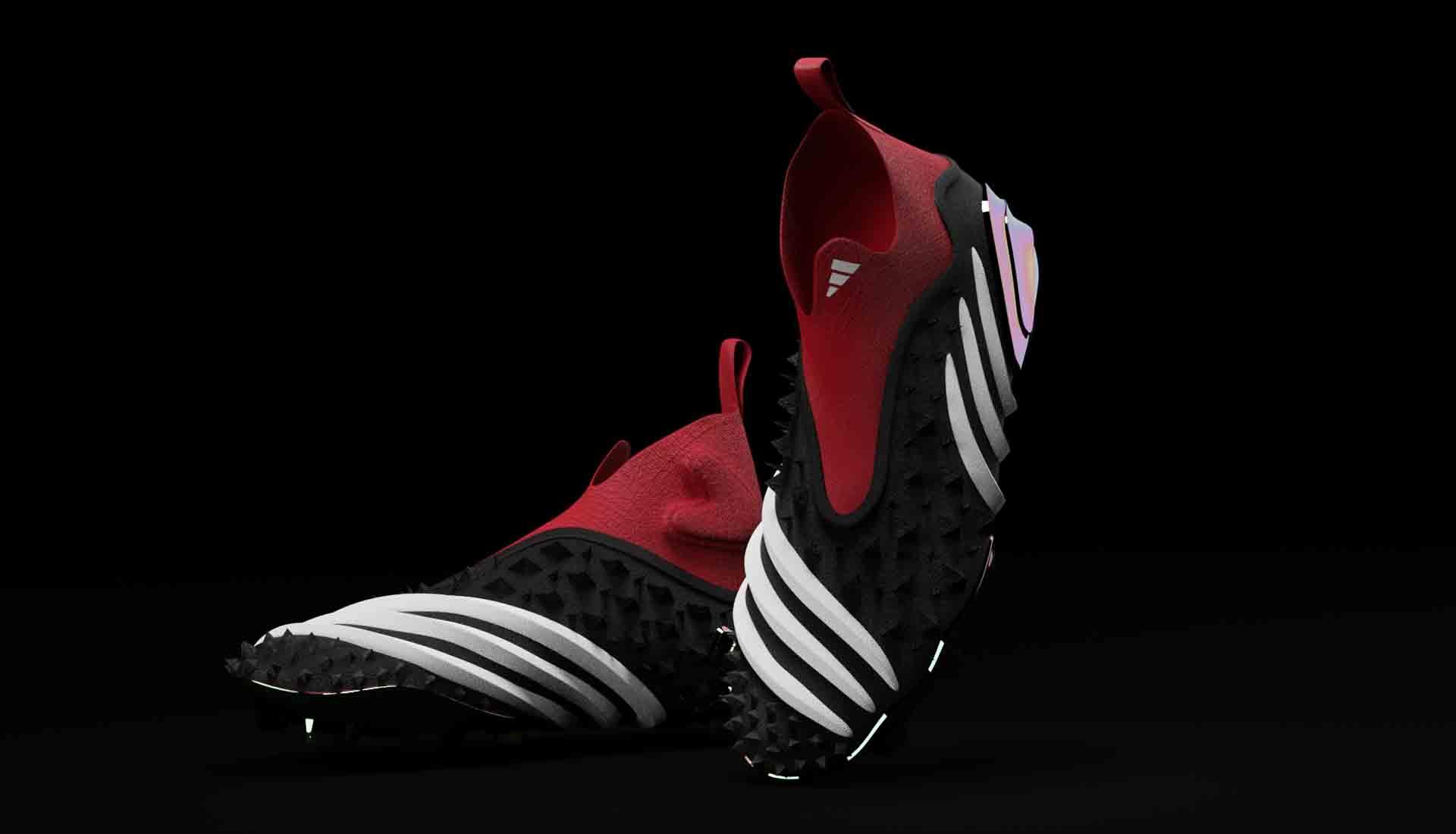 Nhà thiết kế Finn Rush-Taylor cho ra mắt concept Adidas Predator trong rất táo bạo