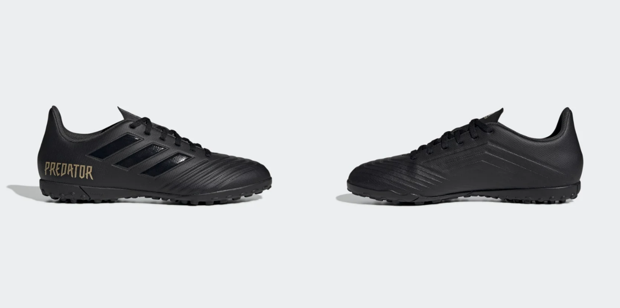 Giày đá bóng Adidas Predator 19.4 TF Blackout