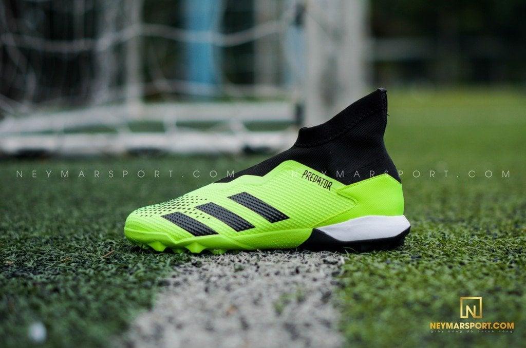 Giày đá bóng không dây Adidas Predator 20.3 Laceless TF Precision To Blur