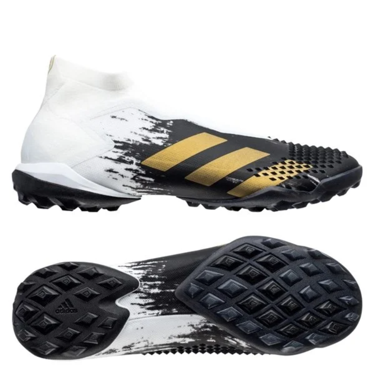 Adidas Predator 20+ TF Inflight - Footwear White/Gold Metallic/Core Black