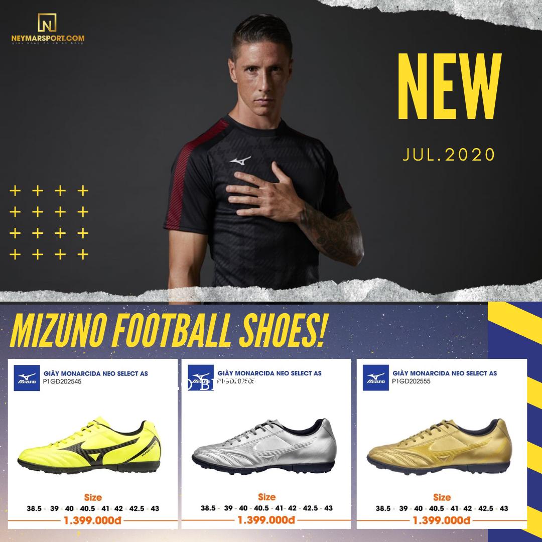Điểm Qua Những Mẫu Giày Cỏ Nhân Tạo Mizuno Lên Kệ Neymarsport Trong Tháng 7/2020