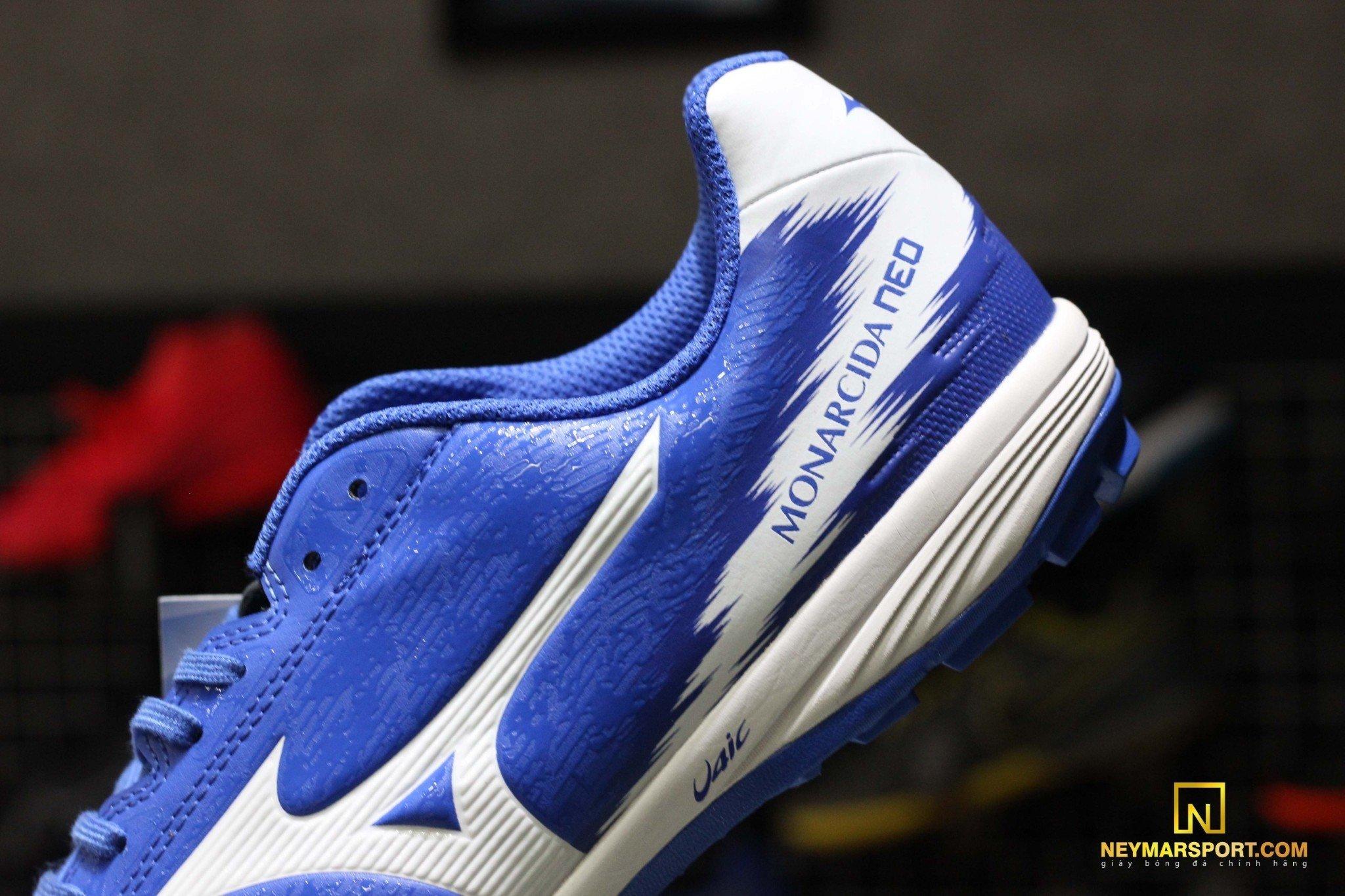 Giày đá banh Mizuno Monarcida Sala Pro TF Blue/White