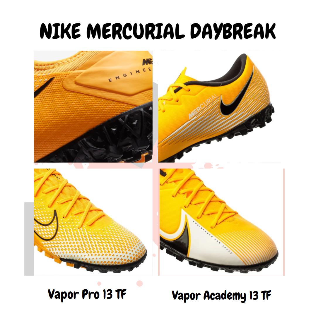 Công nghệ bên trong của 2 phân khúc giày cỏ nhân tạo Nike Mercurial Vapor 13 DayBreak