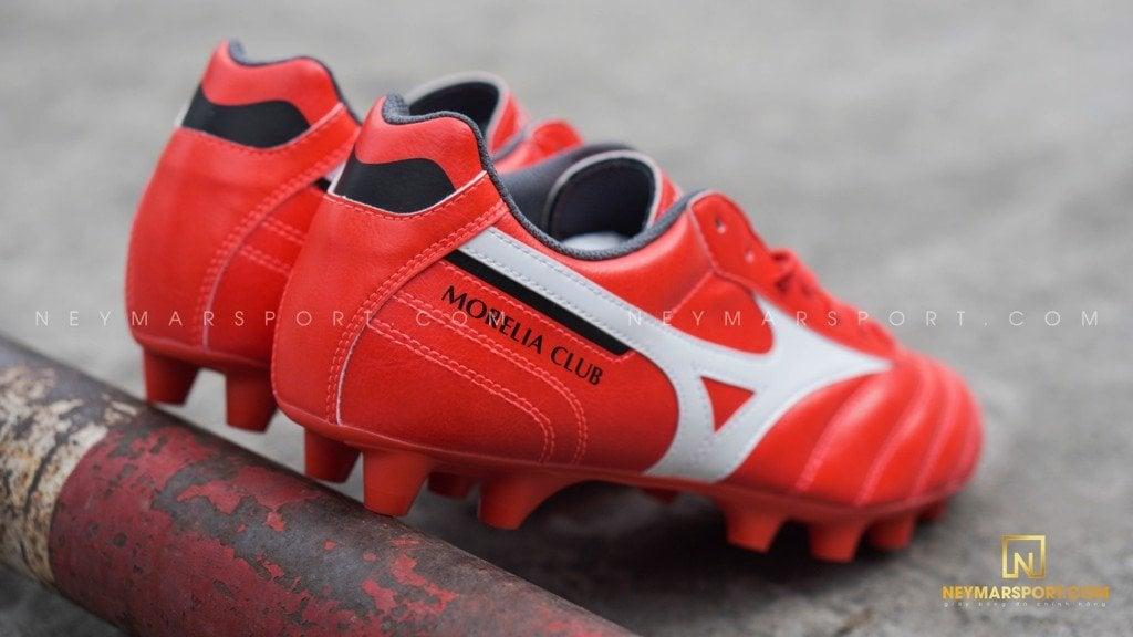 Giày đá bóng Mizuno Morelia Neo III Pro FG - Ignition Red/Black