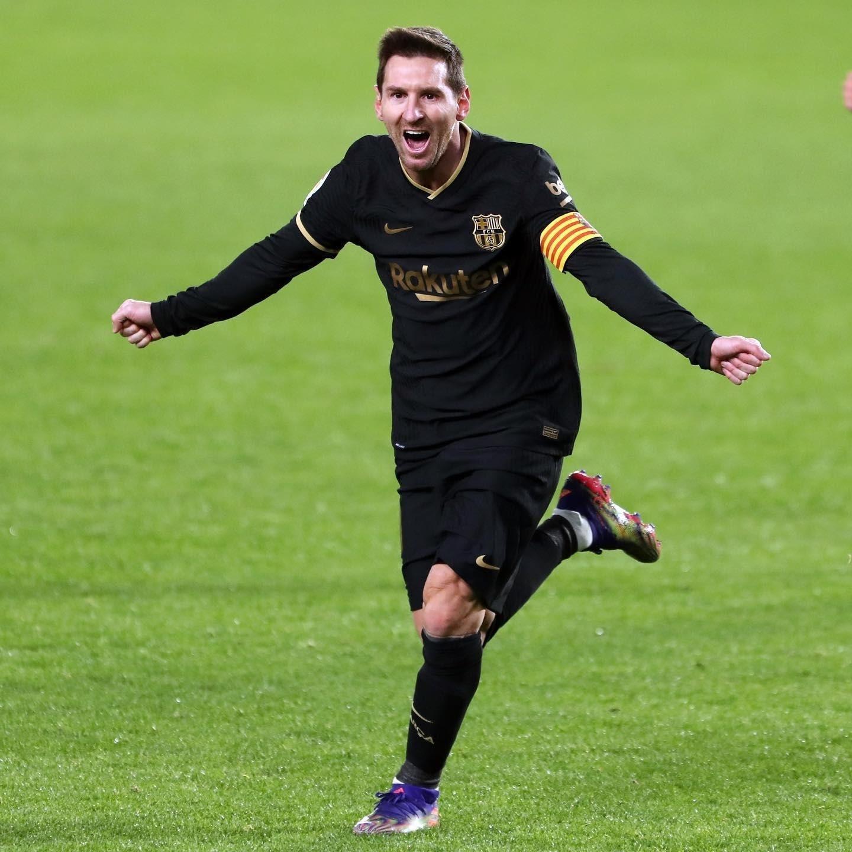 Messi mang giày đá bóng adidas Nemeziz 19.1 Presion To Blur
