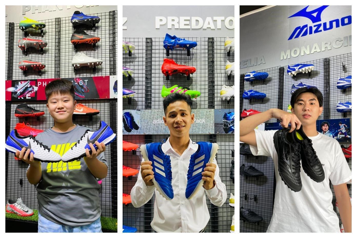 So Sánh 3 Dòng Giày Cỏ Nhân Tạo Dành Cho Chân Bè Nike Tiempo, Adidas Copa Tf Và Mizuno Monarcida