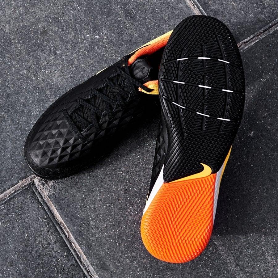 Nike Tiempo React Legend 8 Pro IC Nightfall - Black/Laser Orange