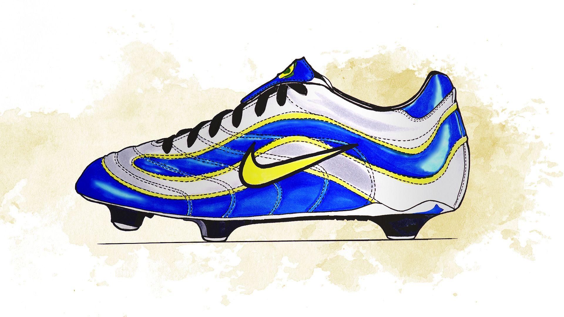 Đôi giày này được dành riêng cho Ronaldo với tên gọi Mercurial R9