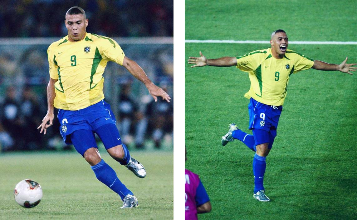 2002 MERCURIAL VAPOR I cùng với Ronaldo vô địch WC2002
