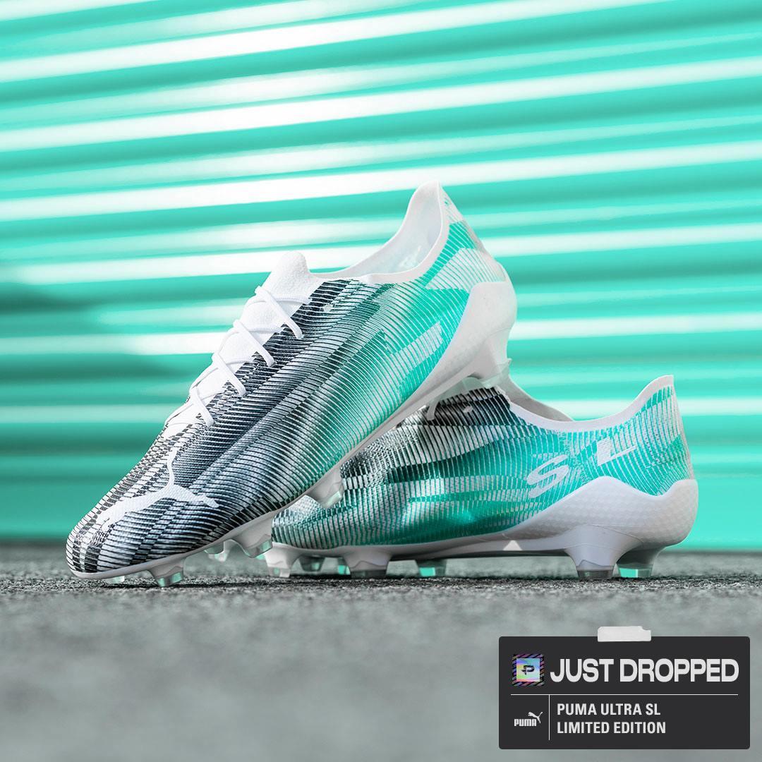 Khám phá giày đá banh nhẹ nhất thế giới Puma Ultra SL 21