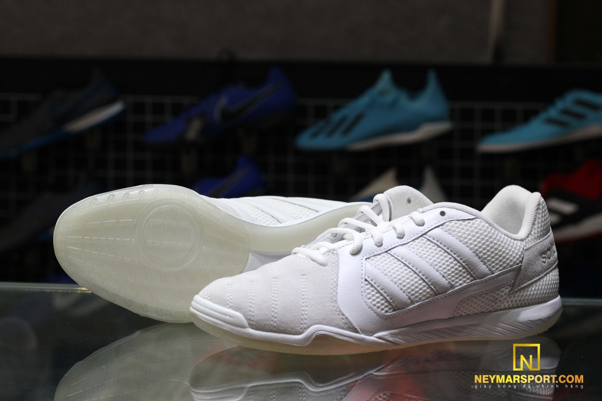 adidas Top Sala LUX - Footwear White