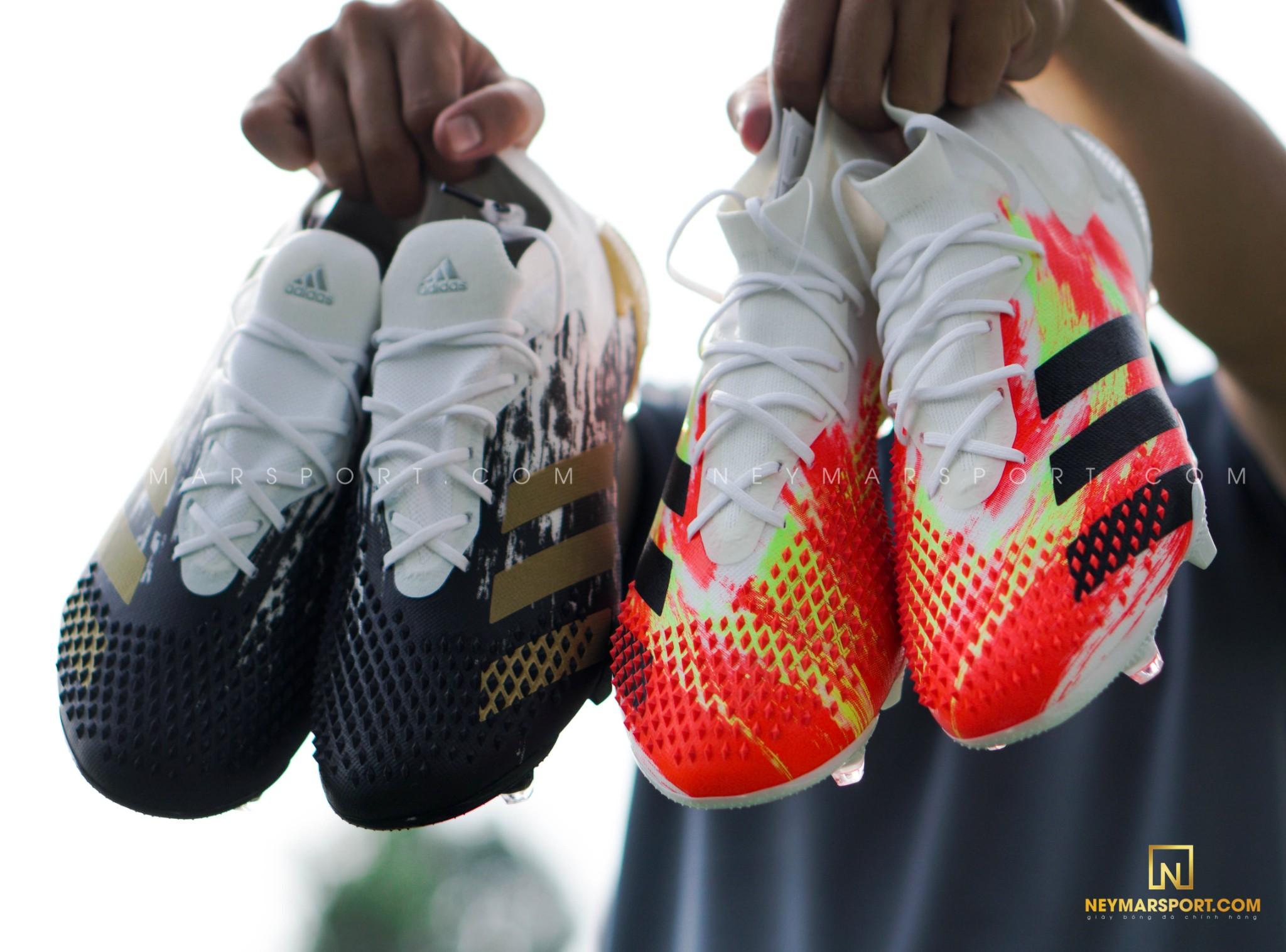 So sánh đặc trưng khác biệt về thiết kế giày đá banh adidas Predator - Uniforia và Inflight Pack