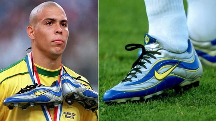Đôi giày Nike Mercurial R9 là khởi nguồn cho dòng giày bóng đá huyền thoại Nike Mercurial