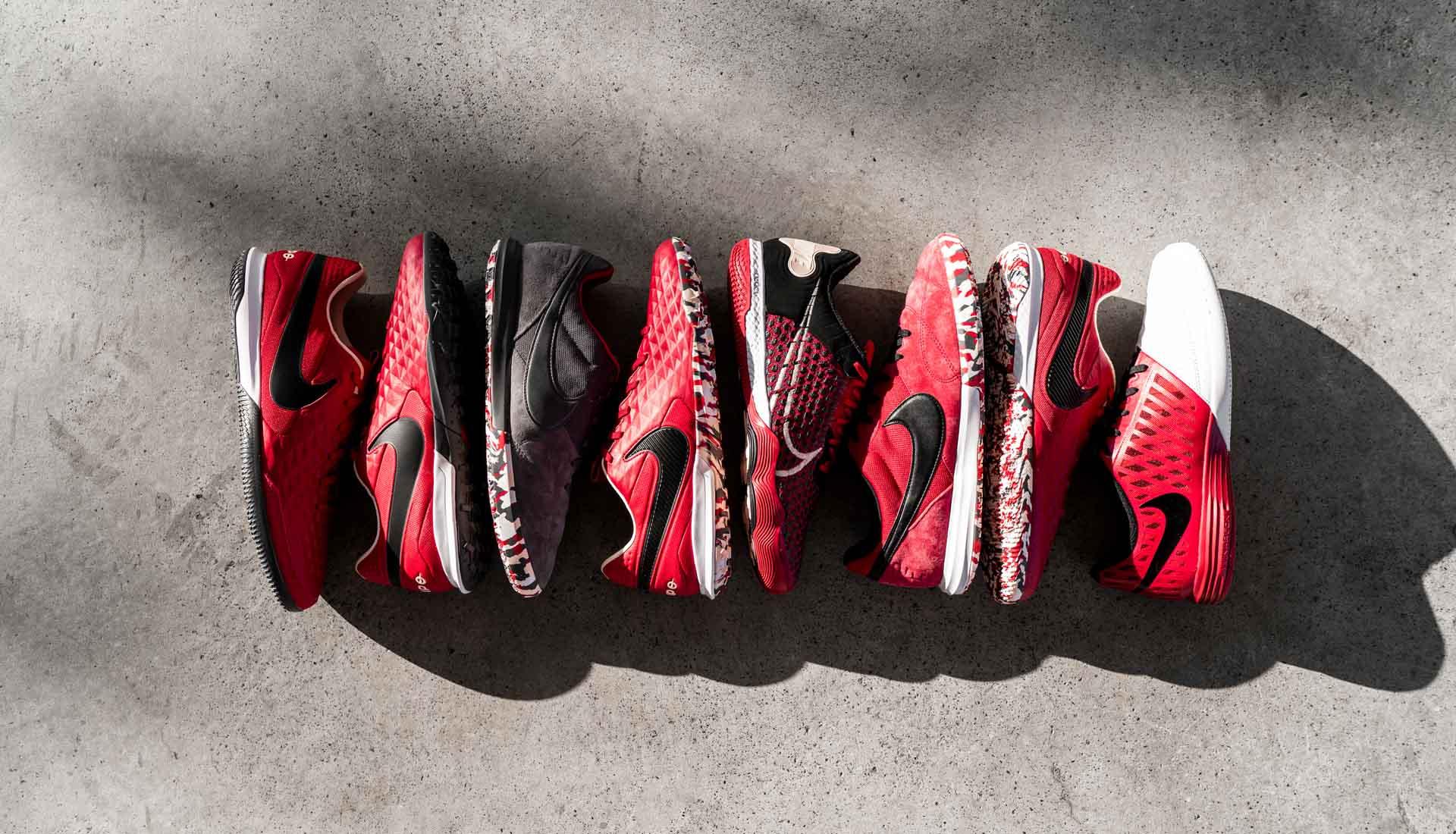 Nike Tiempo Pro TF và Nike React Gato IC