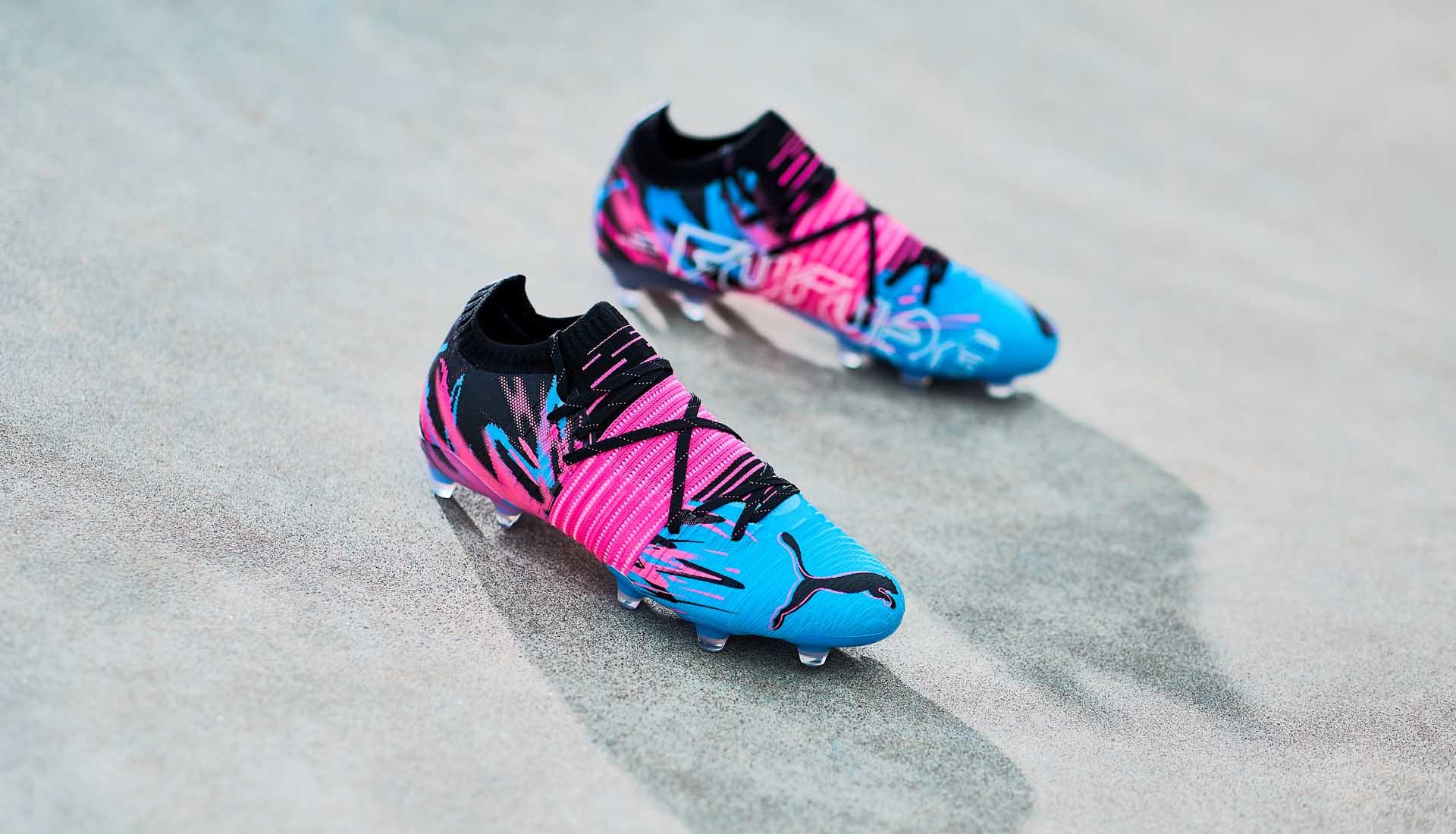 Giày đá banh Puma Future Z Creativity với thiết kế độc đáo, táo bạo