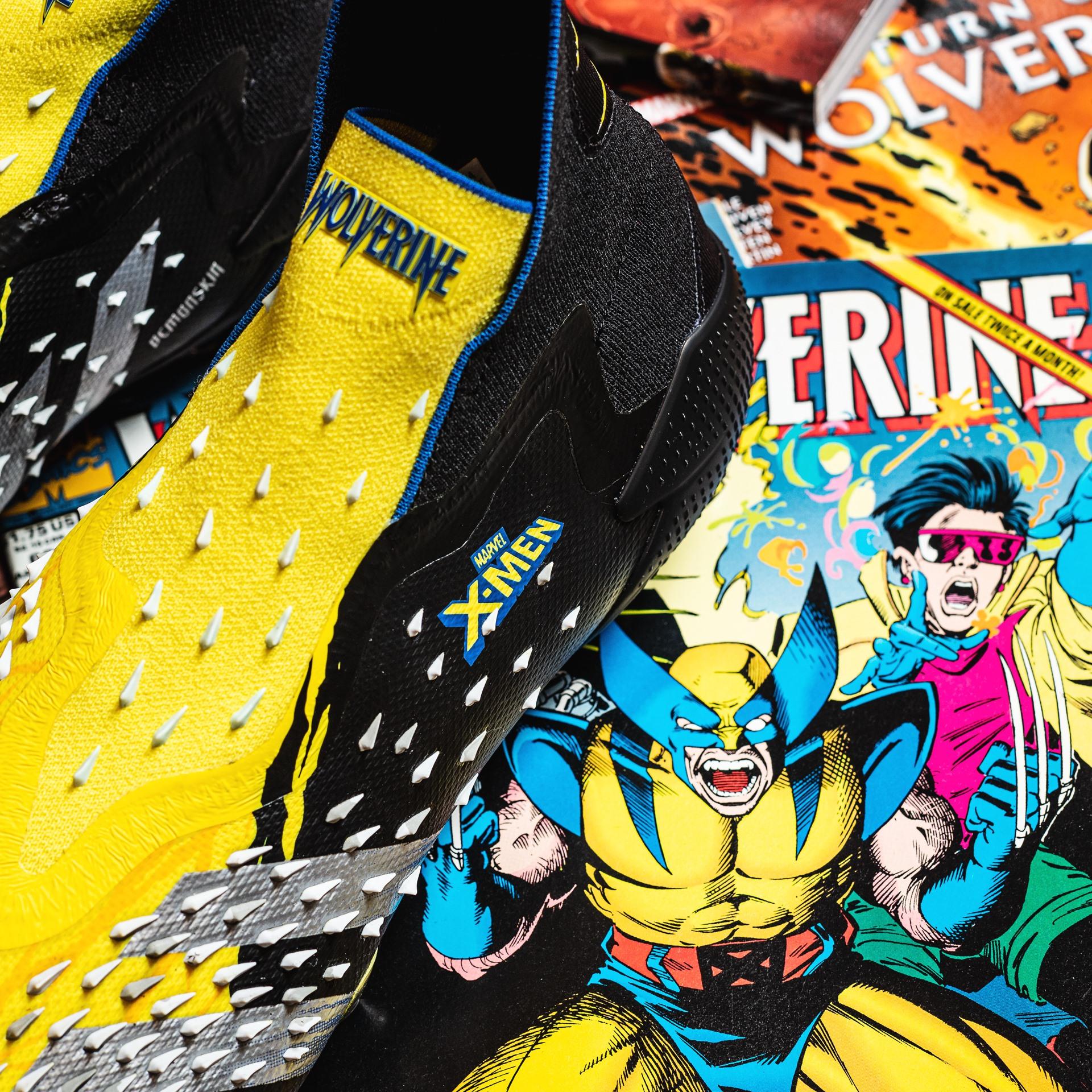 Cảm hứng của giày đá bóng adidas Predator Freak Wolverine