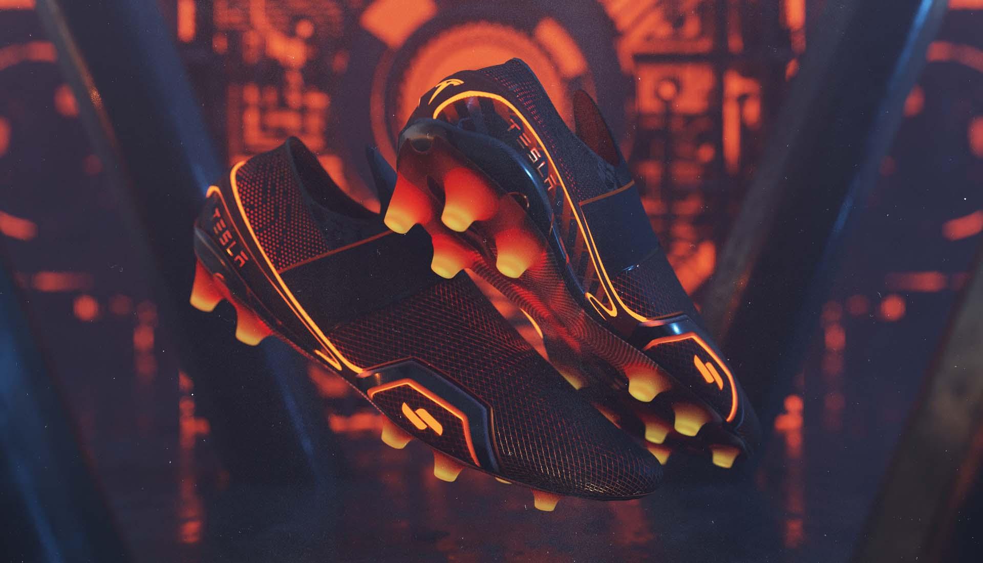 Xem thêm những hình ảnh của giày đá bóng Tesla