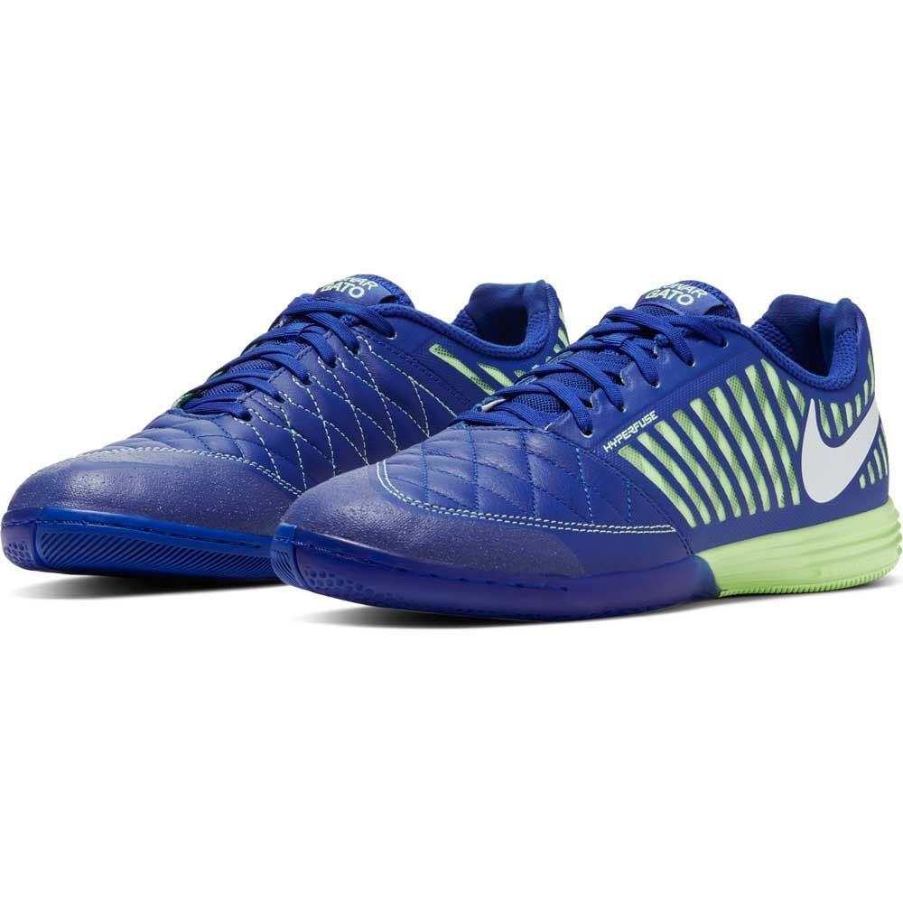 Giày đá banh Nike Lunargato II IC Skycourt - Hyper Blue / White / Barely Volt