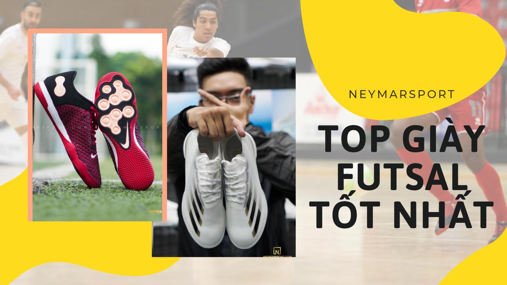Tổng hợp những mẫu giày Futsal tốt nhất hiện nay