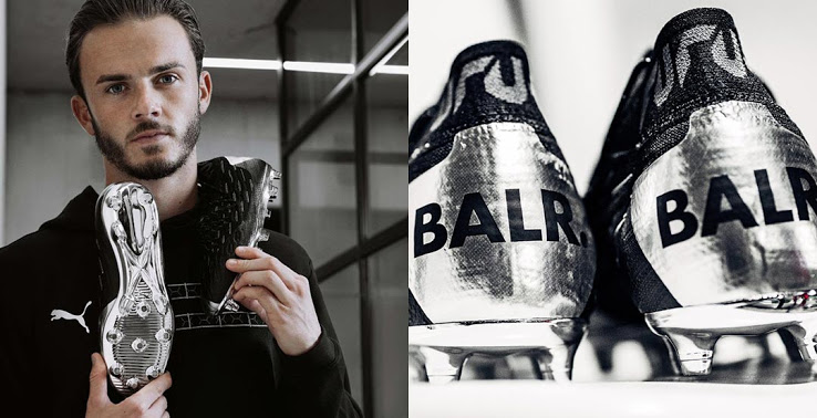 Giới thiệu giày đá bóng Puma x BALR