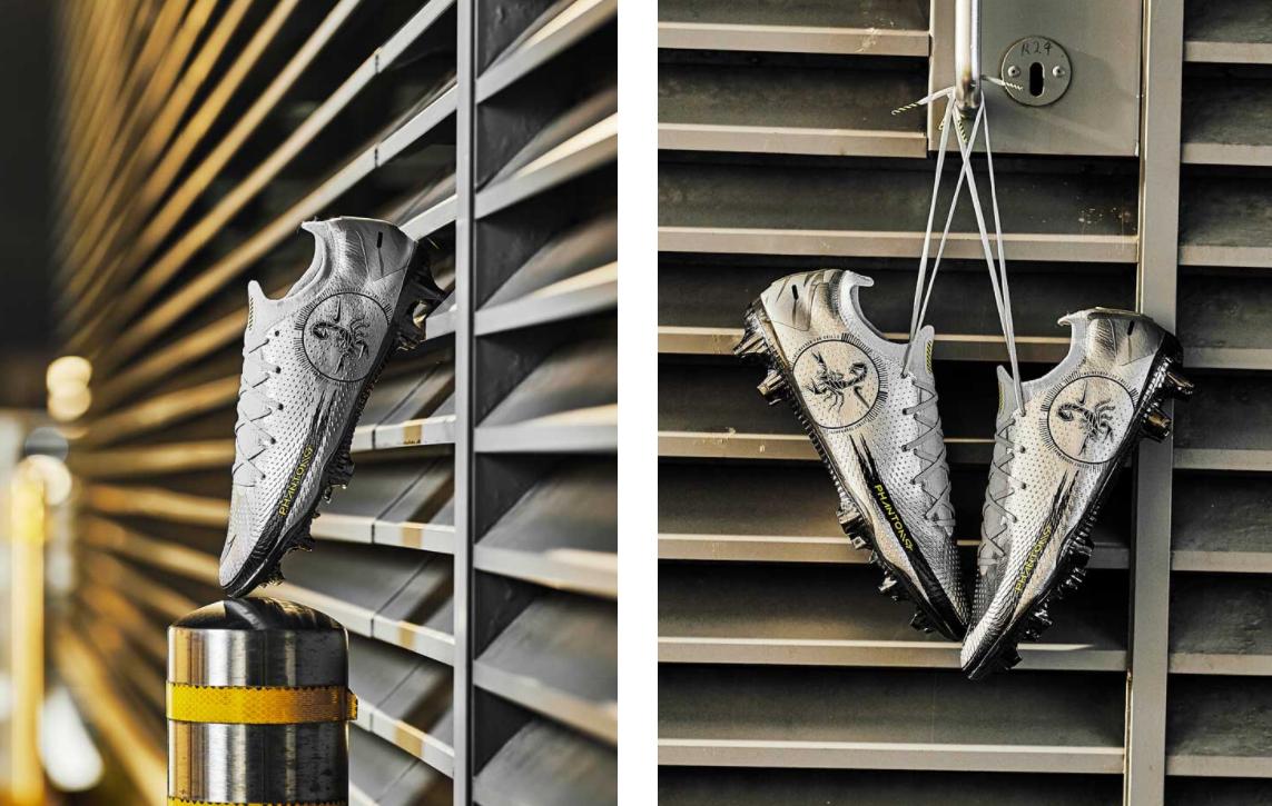Cảm hứng của giày đá bóng Nike Phantom GT Scorpion