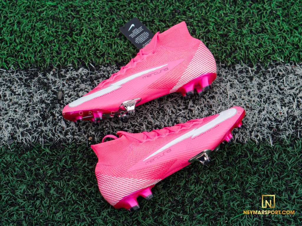 Giày đá bóng Nike Mercurial Mbappe Rosa