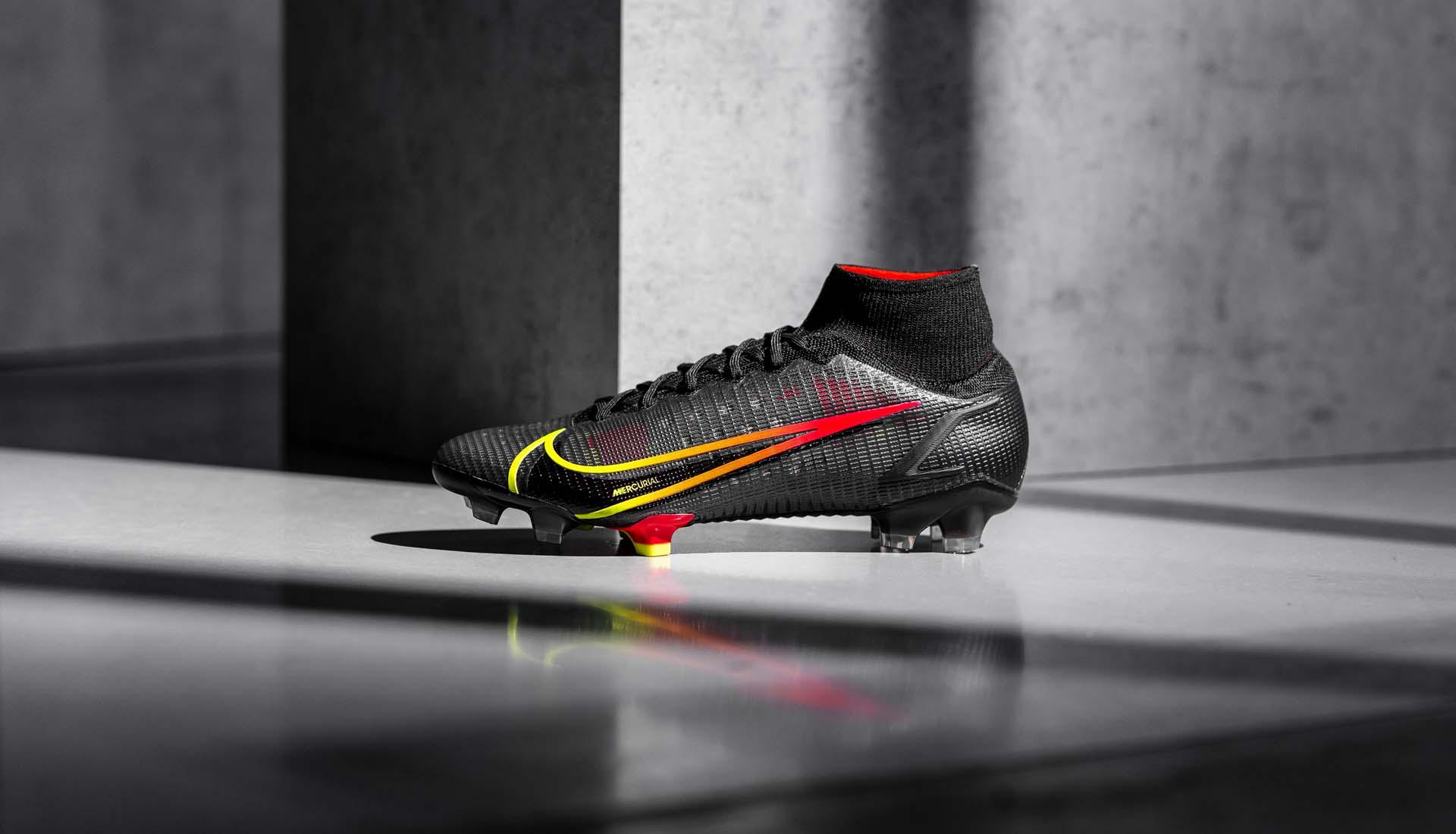 Giày đá bóng Nike Mercurial Superfly 8 Black & Prism 2021