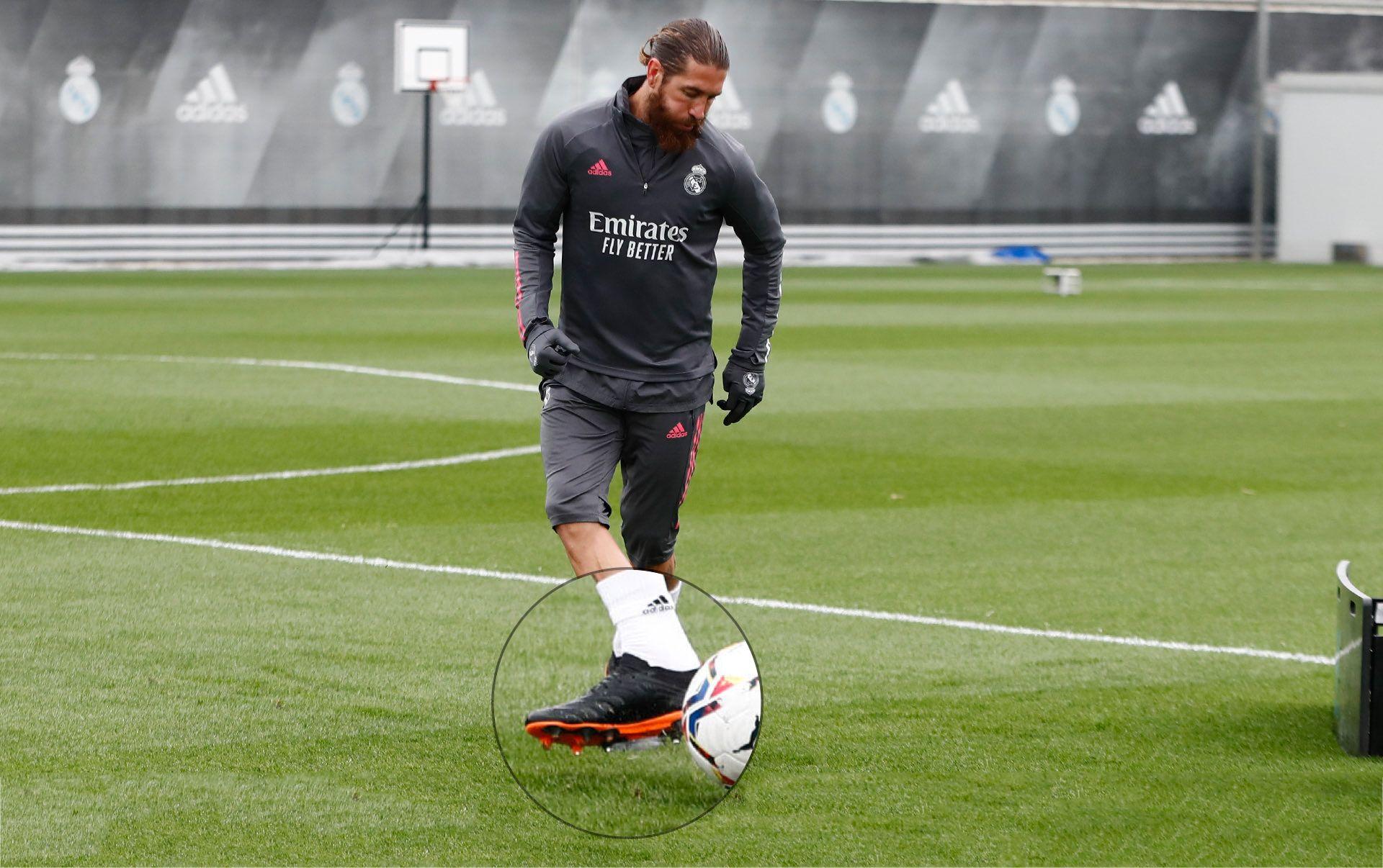 Ramos đã không xuất hiện với Huyền thoại Giày đá bóng Nike Tiempo như thường lệ