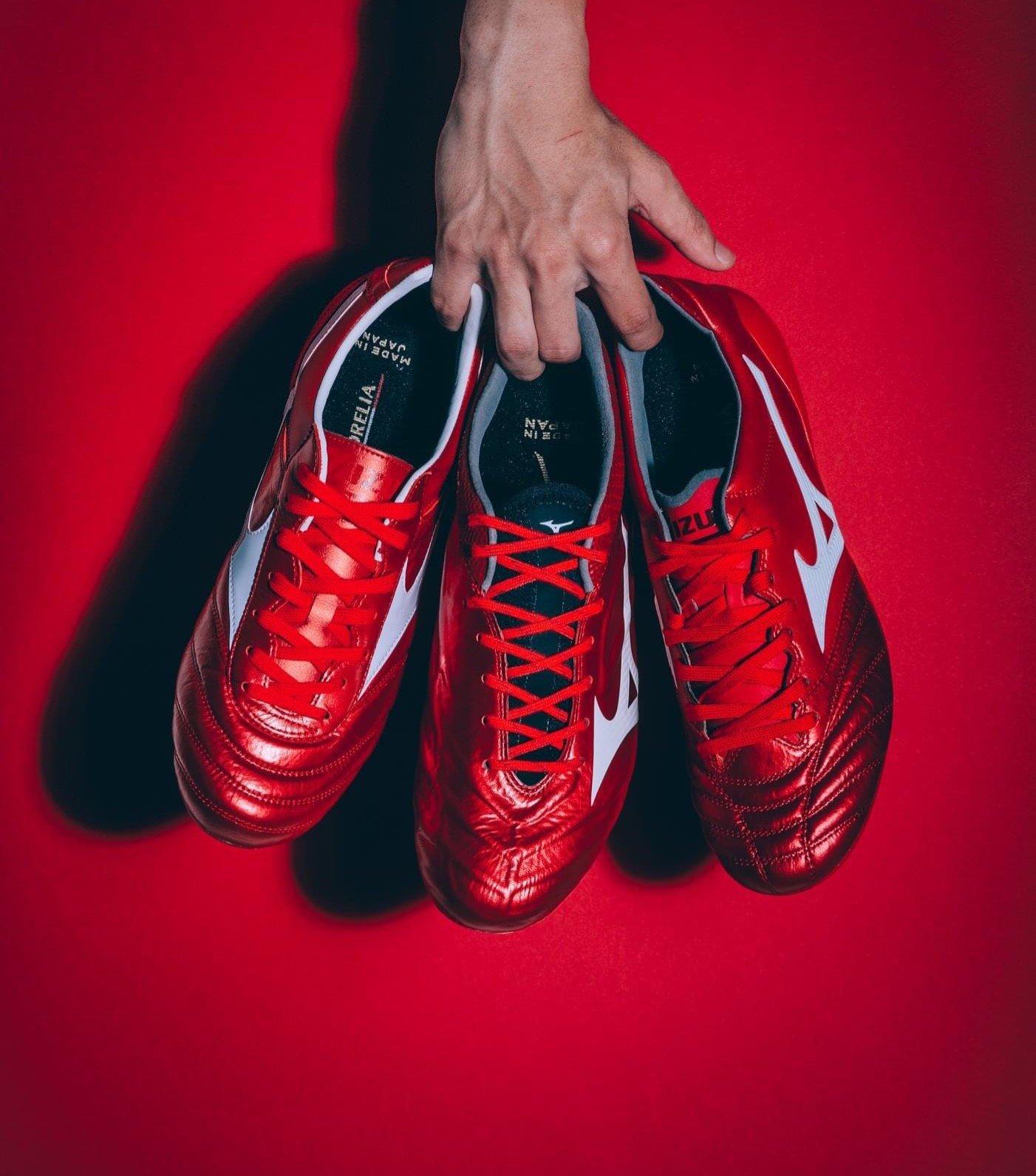 Giày đá bóng Mizuno Morelia đặc trưng hướng đến sự chắc chắn, bền bỉ