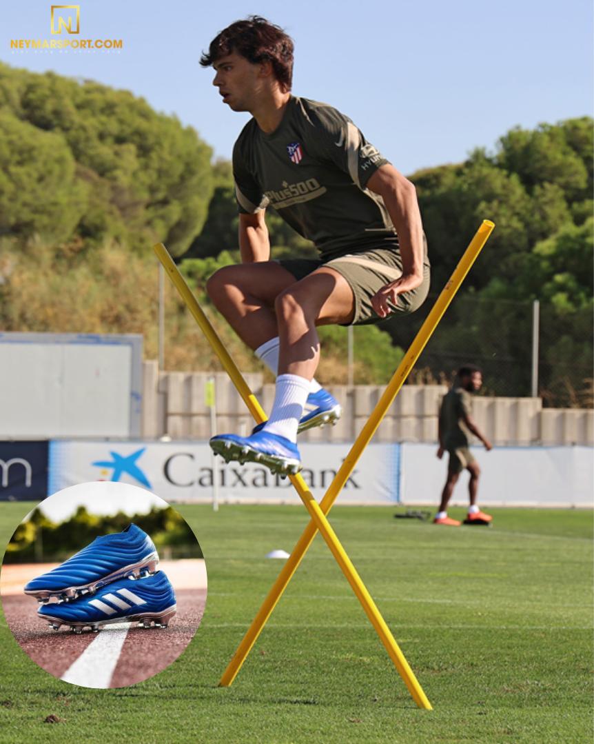 Joan Felix tập luyện tại doanh trại Atlético de Madrid cùng Copa 20+ INFLIGHT PACK