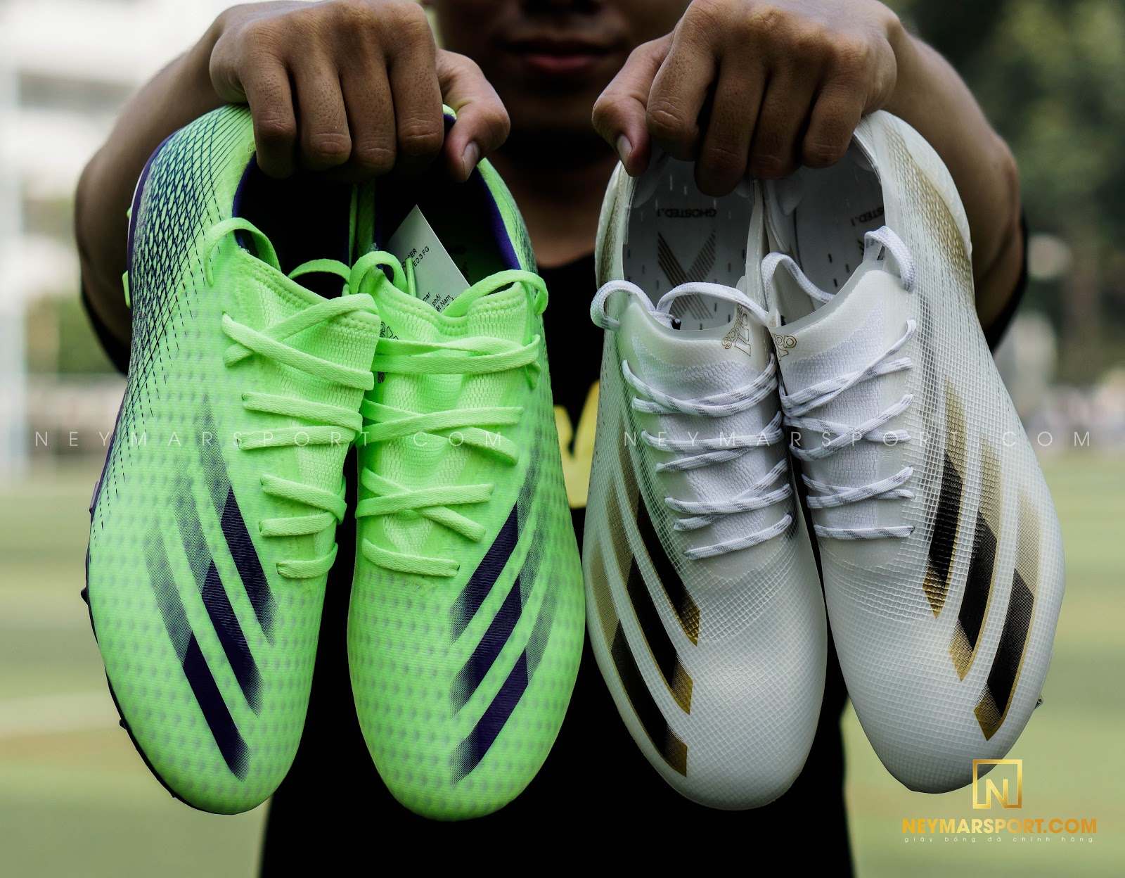 So Sánh 2 giày đá bóng adidas X Ghosted.1 FG và X Ghosted.3 FG