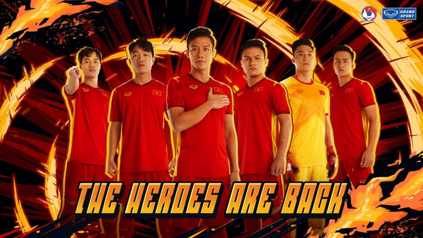 Công nghệ của áo thi đấu đội tuyển Việt Nam 2021